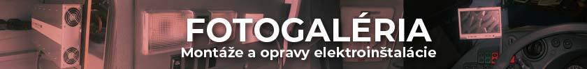 Montáže a opravy elektroinštalácie