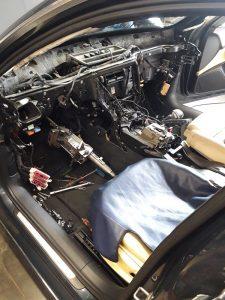 AUDI A6 2012 3,0 BiTDi výmena radiátora kúrenia