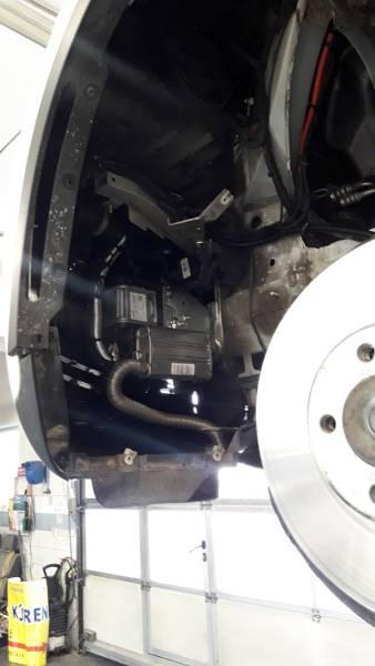 BMW X6 F16 montáž nezávislého kúrenia ThermoTop EVO