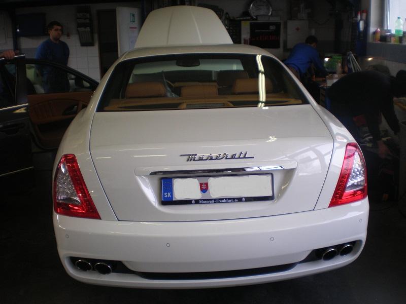 Maserati Quattroporte alarm
