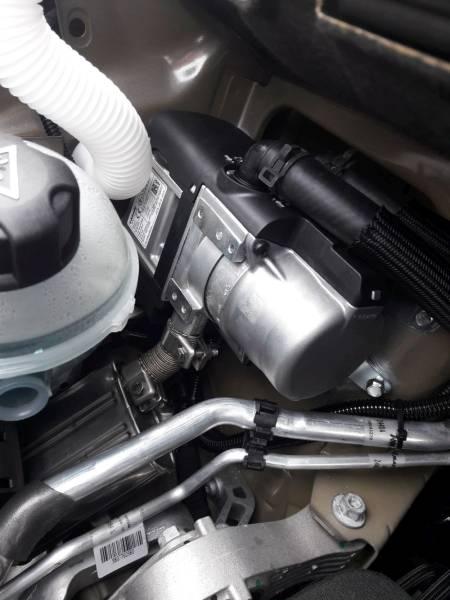 PEUGEOT TRAVELLER 2019 montáž nezávislého kúrenia ThermoTop EVO
