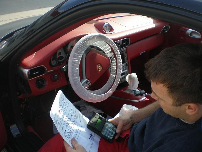 Porsche 911 alarm