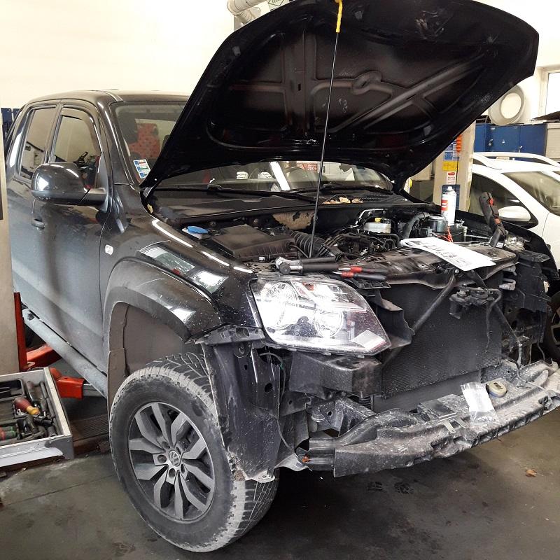 VW AMAROK 2018 montáž nezávislého kúrenia ThermoTop EVO