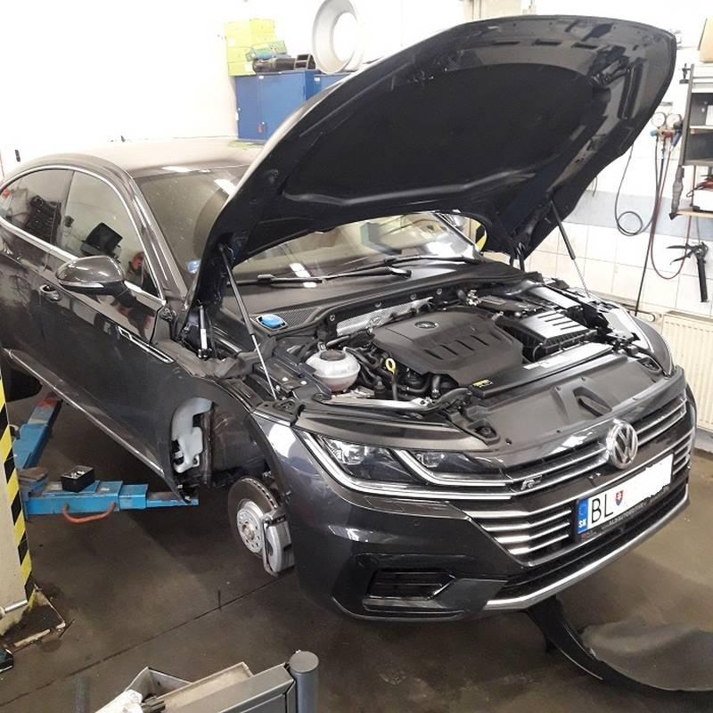 VW ARTEON 2,0 TSI montáž nezávislého kúrenia ThermoTop EVO