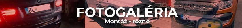 Fotogaléria Montáž rôzne osobné autá