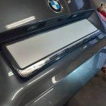 BMW 320d F31 montaz podsvietenej EČV