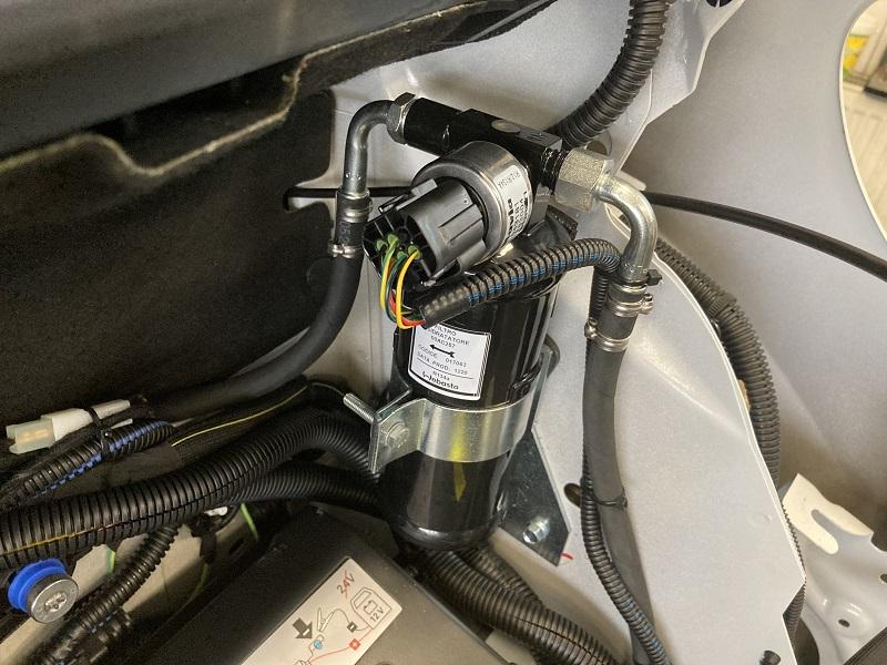 Citroen Jumper montáž chladenia Webasto
