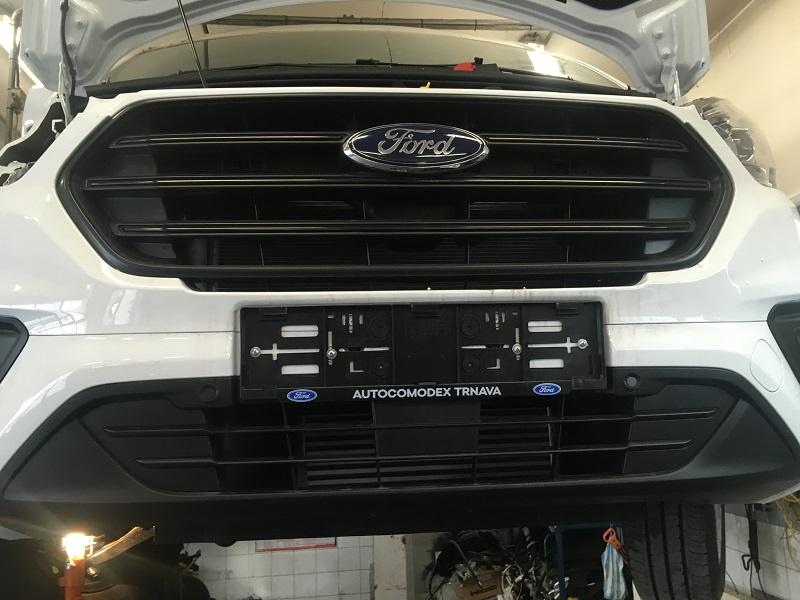 Ford Transit montáž chladenia Konvekta