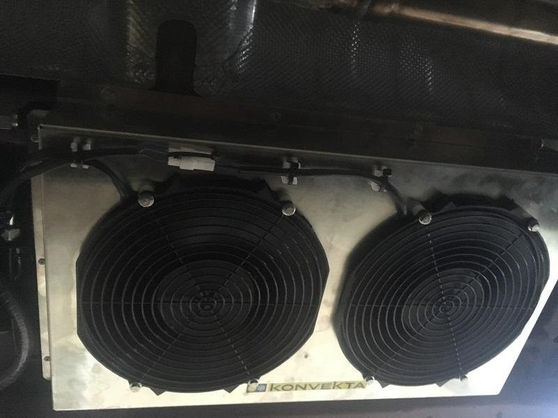 Ford Transit montáž chladenia Konvekta 2019