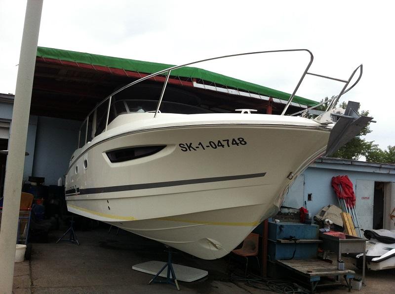 Montáž AT3900 loď Leader