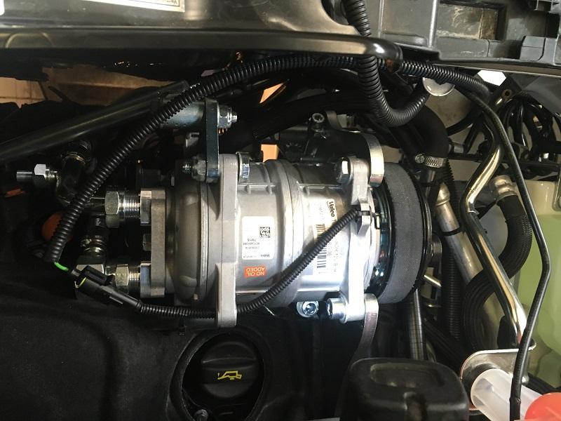 Peugeot Boxer 2019 montáž chladenia Webasto
