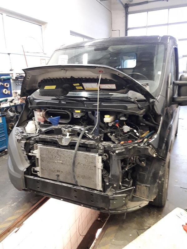 Peugeot Boxer montáž nezávislého kúrenia Thermo Top EVO