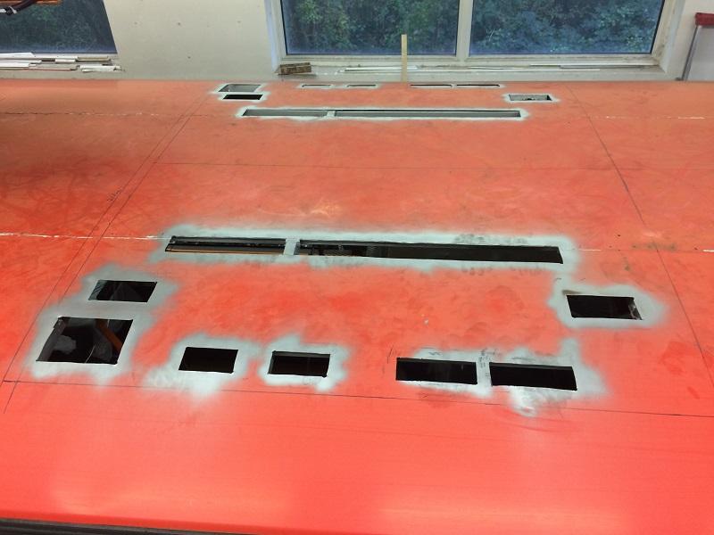 SOR montáž strešnej klimatizácie Webasto