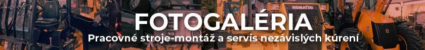 FOTOGALÉRIA - Pracovné stroje-montáž a servis nezávislých kúrení