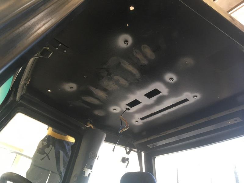 JCB montáž strešnej klimatizácie Duratronic