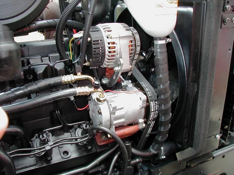 Zetor Forterra montáž klimatizácie