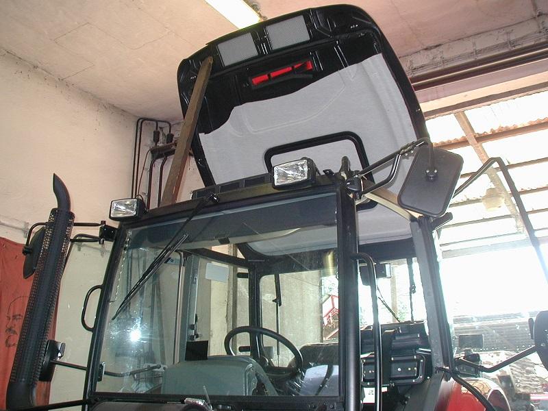 Zetor Proxima montáž klimatizácie